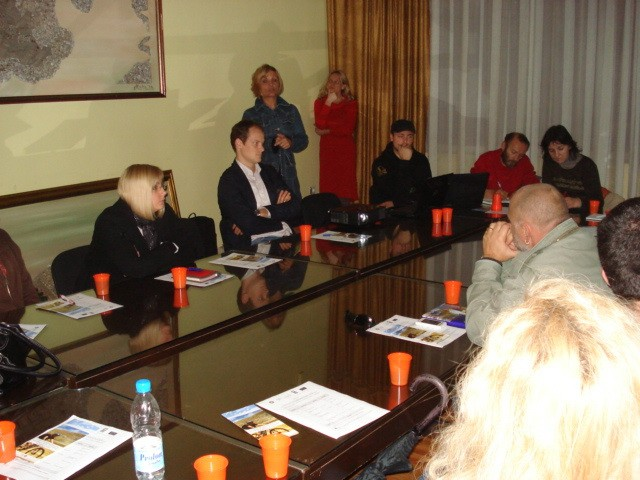 First cluster group workshop in Montenegro