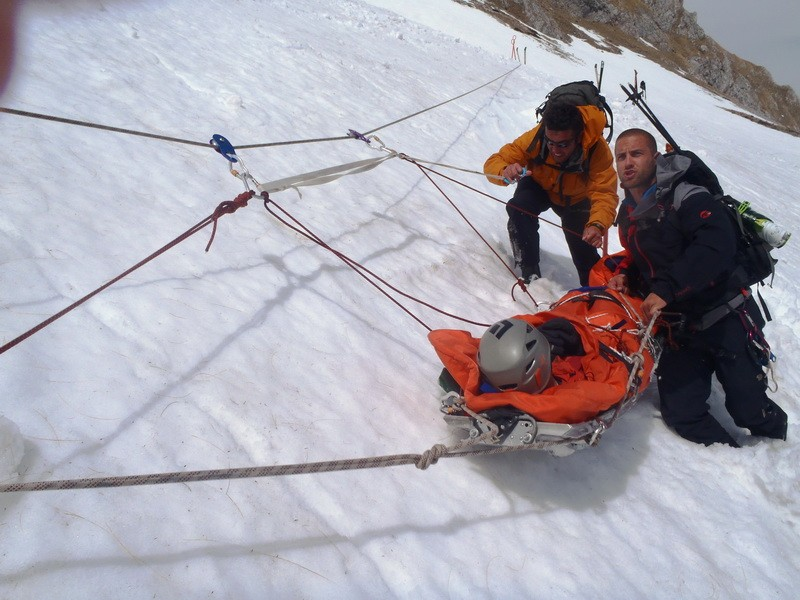 Exercise in Winter Rescue Training program